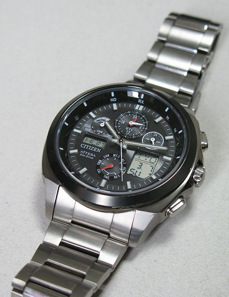 Solar Powered Eco-Drive Watch