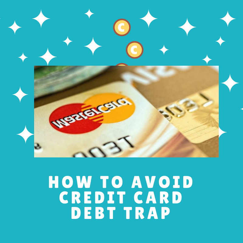 avoid falling into credit card debt trap