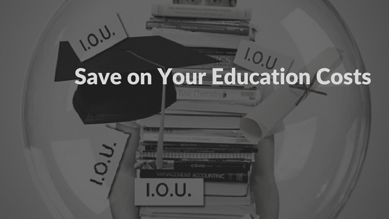 reduce your cost of education